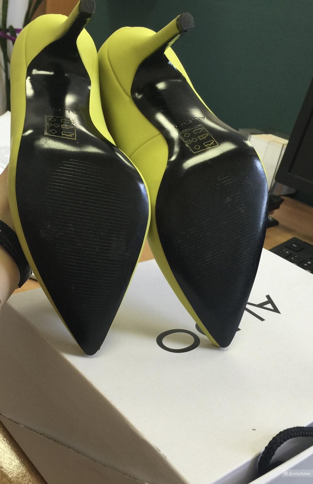 Туфли ALDO желтые неоновые
