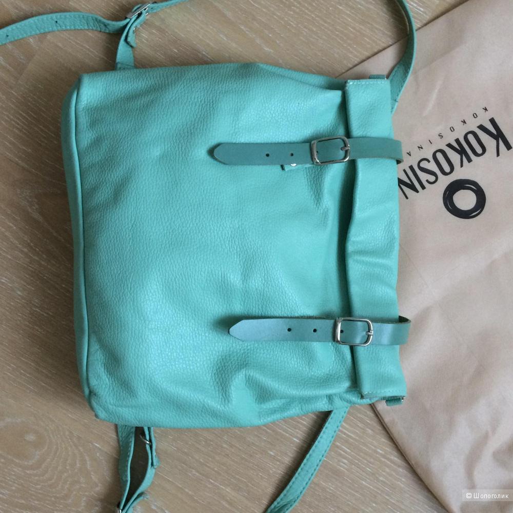 Рюкзак роллтоп-трансформер из кожи Kokosina