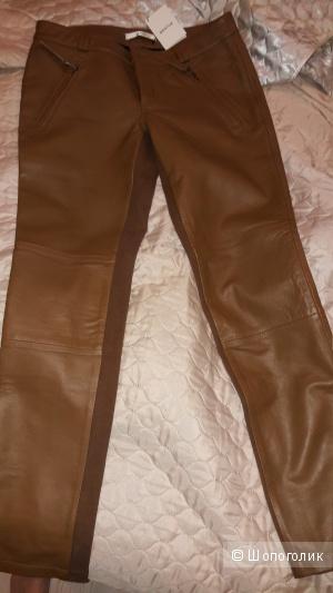 Новые Кожаные брюки Gestuz Ada 40 евро на наш 46
