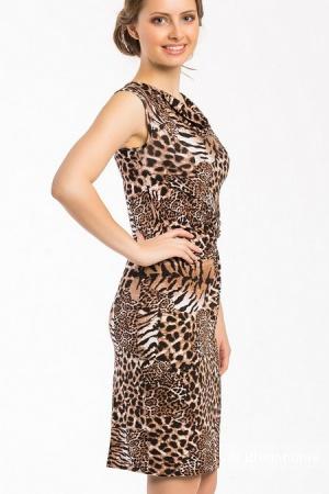 Стильное платье актуального дизайна Remix новое размер 50