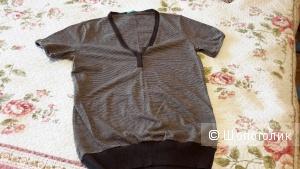 Трикотажная блузка Benetton с шерстью новая размер L