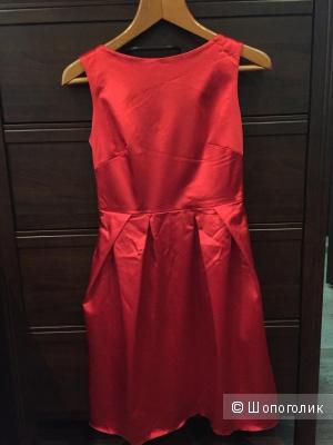 Платье, 44-46, Красное, коктельное