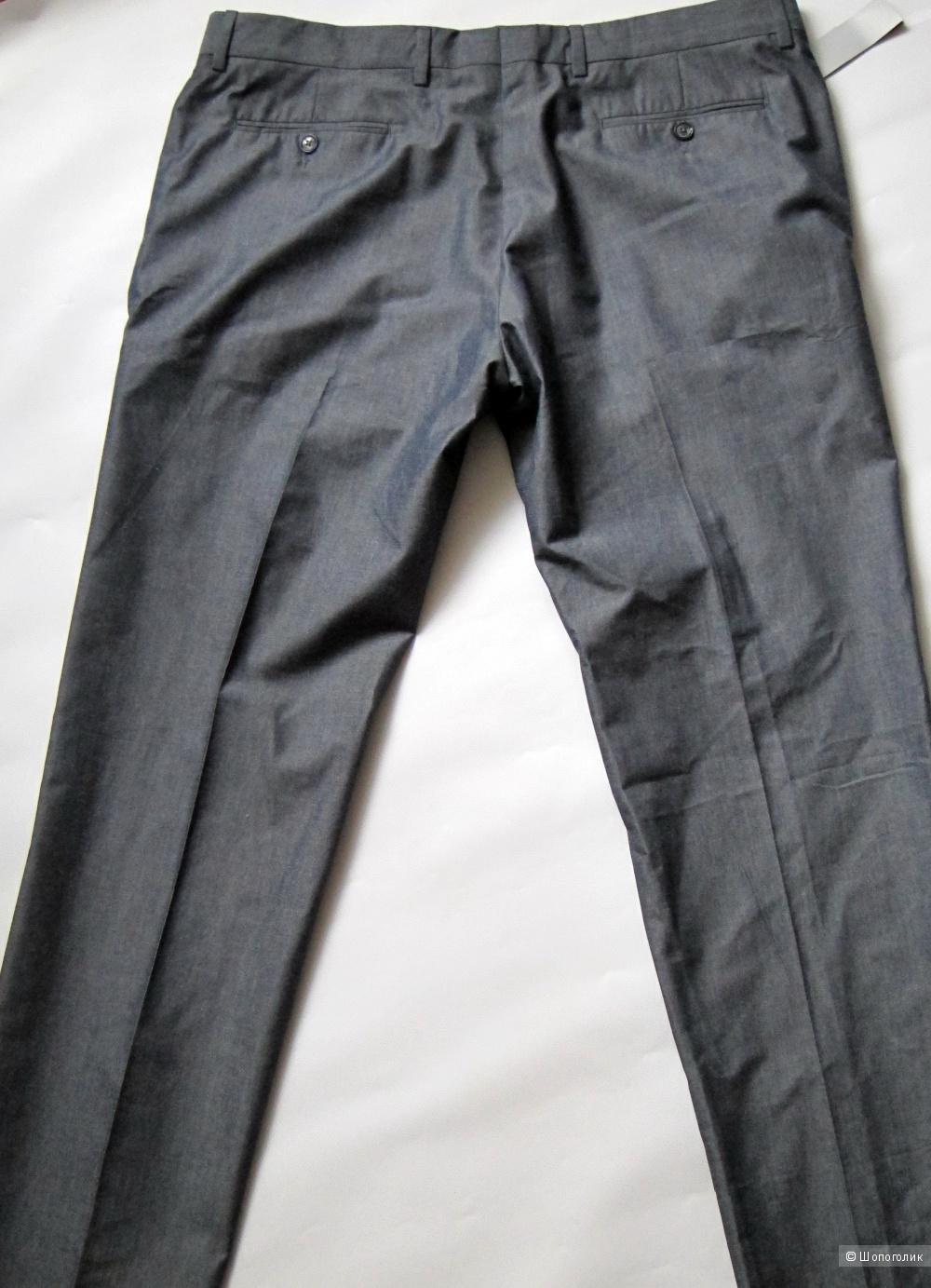 Итальянские мужские брюки grey daniele alessandri