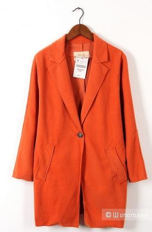 Пальто-пиджак oversize Yfym Fs (Испания), с бирками 44-46