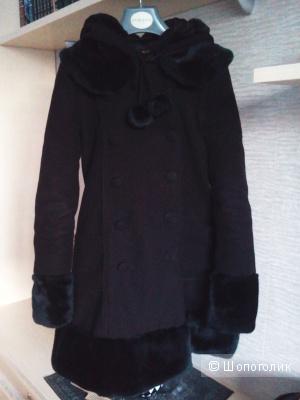 Оригинальное фирменное пальто Hell Bunny, размер S