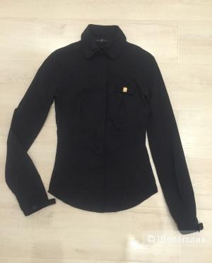 Черная рубашка Elisabetta Franchi xs