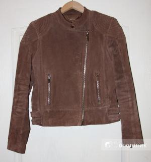 """Куртка """"Mango"""" Свиная кожа Размер М в хорошем состоянии"""