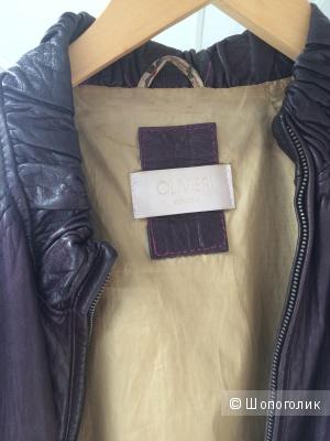 """Кожаная куртка """"OLIVIERI"""""""