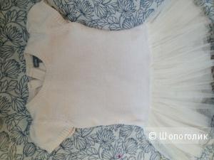 Платье белое на девочку