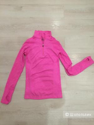 Victoriassecret sport неоновый розовый топ xs