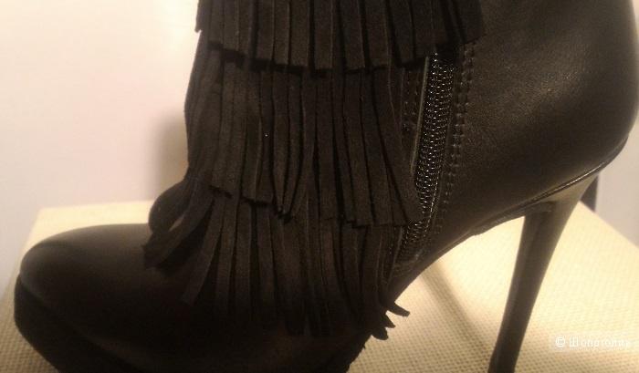 Черные ботильоны Nila&Nila (Италия), размер 38