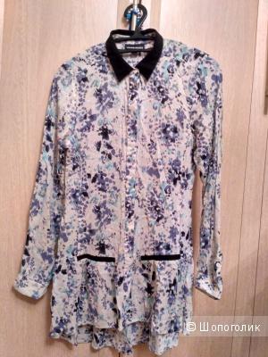Удлиненная рубашка Warehouse, UK 6