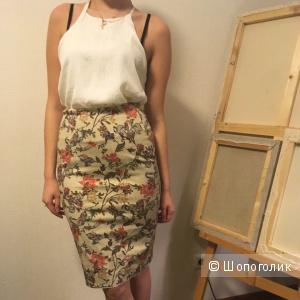 Новая юбка-карандаш Mango