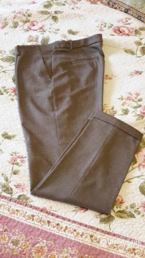 Стильные укороченные брючки Zara размер XL на 48-50