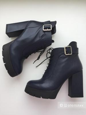 Кожаные ботинки Aquamarin 36 размер