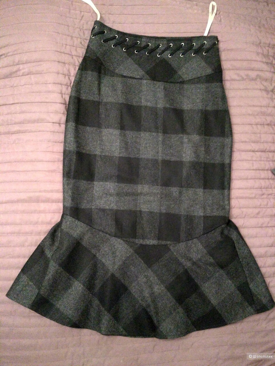 Новая шерстяная юбка Karen Millen, UK 8