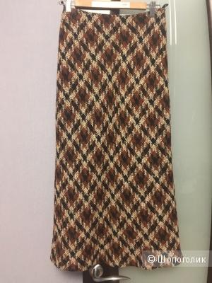 Юбка теплая Zarina, с подкладом, в составе шерсть, новая, размер 44