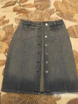 Юбка джинсовая Apart, новая, размер 34 немецкий, наш 42-44