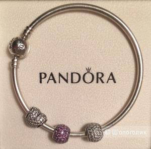 Браслет Pandora с шармами, оригинал