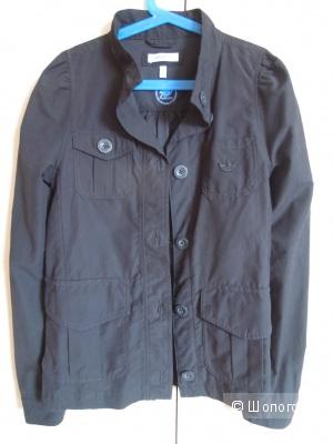 Куртка-ветровка хлопок Adidas оригинал 40-42-44 размер новая
