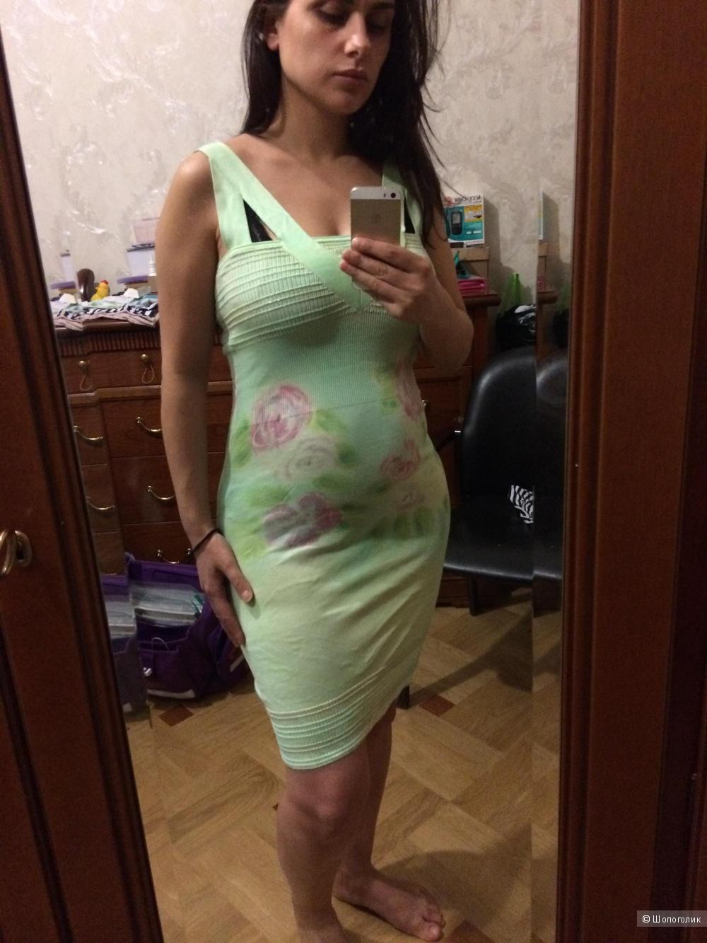 Летнее платье из лёгкого трикотажа