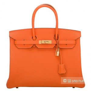 СУМКА HERMES BIRKIN 35 ORANGE