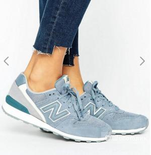 Кроссовки New Balance 996, цвет: голубой, размер 37,5 EU