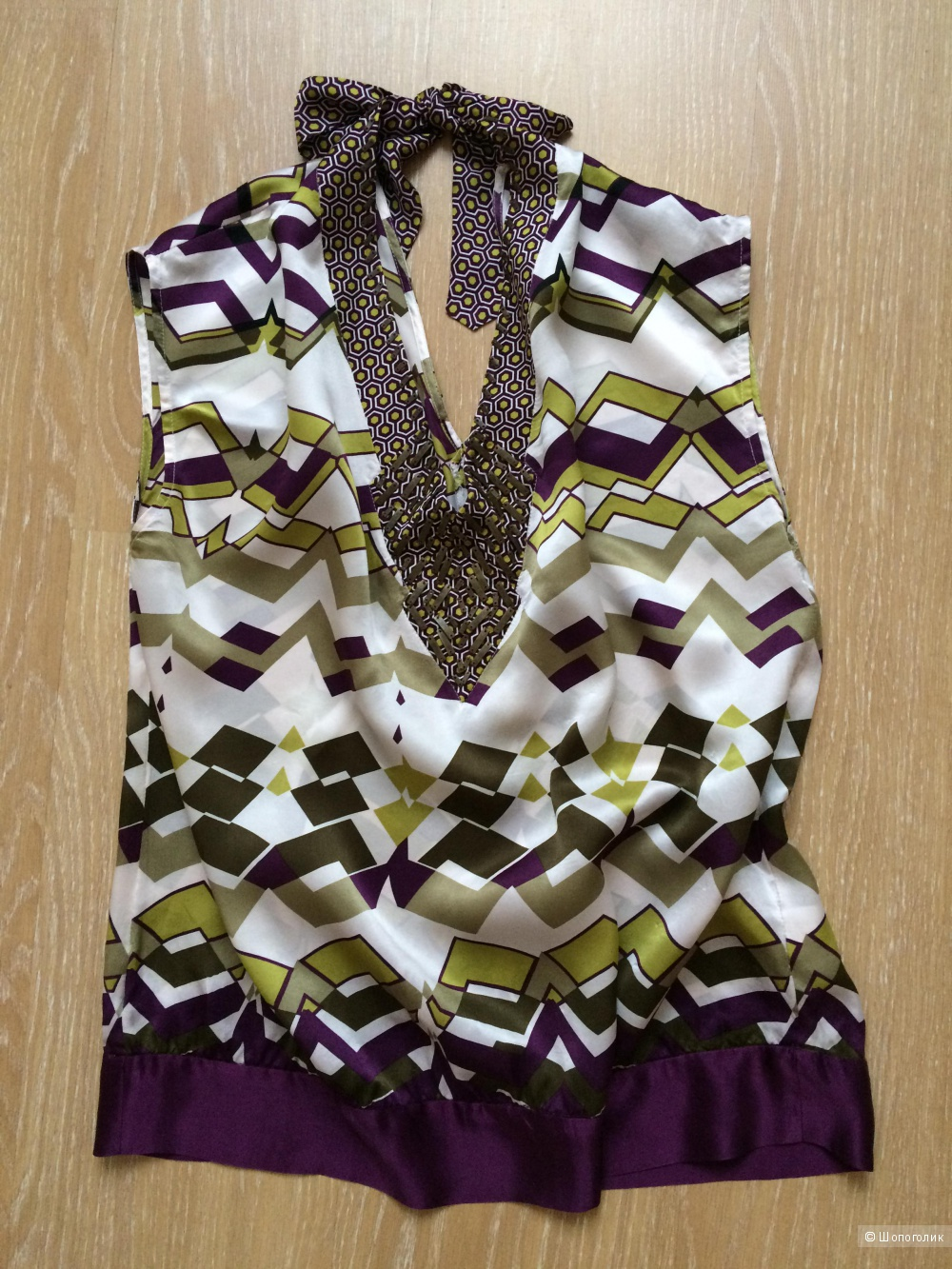 Шёлковая блуза Next signature