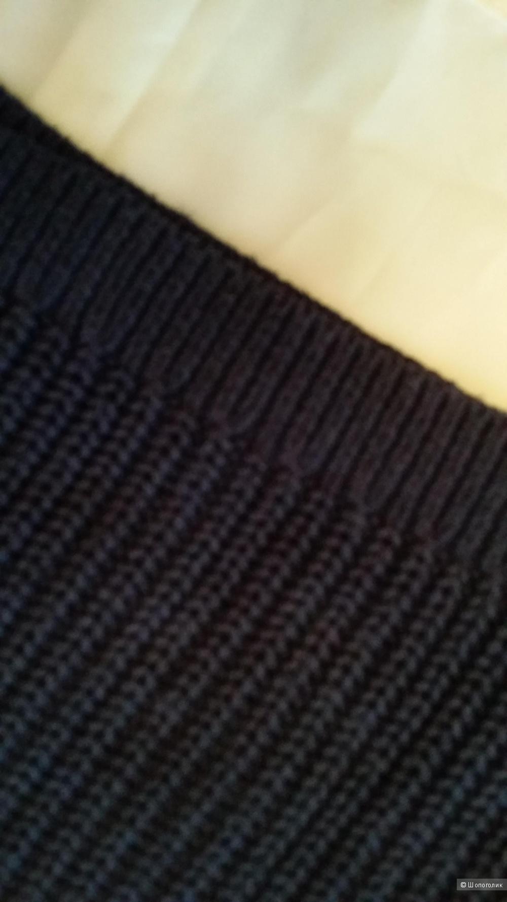 Джемпер HILFIGER Denim XS ( от 40 до 46 размера) темно-синий с аппликацией