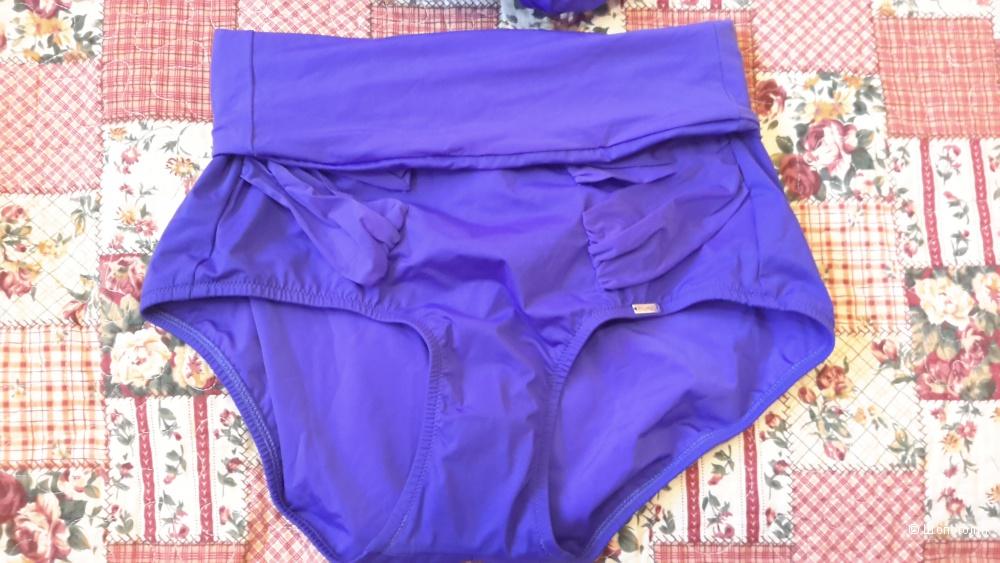 Раздельный купальник из коллекции Shape Sensation от Triumph 80С/40 евро красивого синего цвета