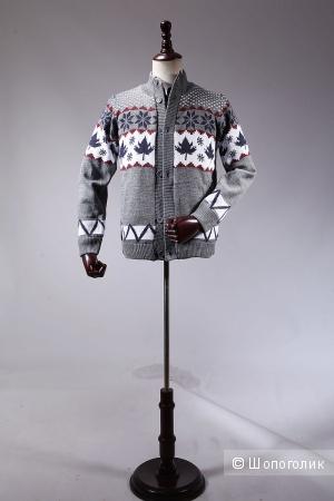Теплый мужской свитер с экспортного магазина Таобао