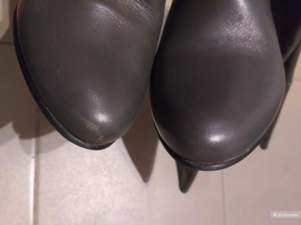 Кожаные сапоги Respect, 35