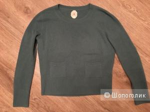 Кашемировый свитер Jardin des Oranges, М