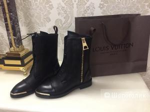 Чёрные Ботинки Louis Vuitton