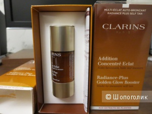 Clarins капли для загара Clarins Addition Concentre Eclat 2шт