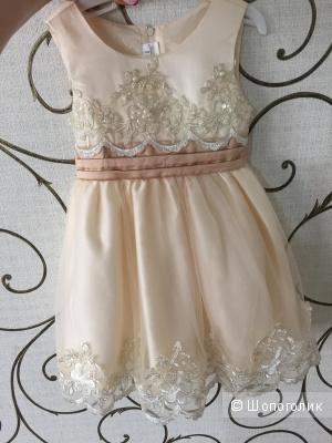 Детское платье на 1-2 года