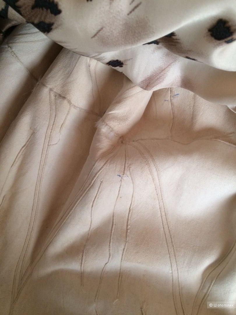 Норковая светлая  шуба  44-46