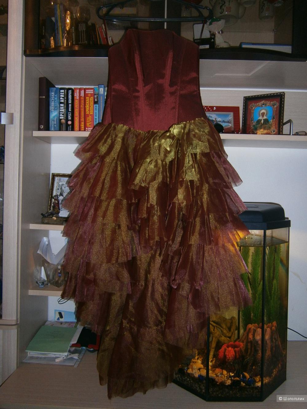 Эксклюзивное свадебное, выпускное платье 44-46-48