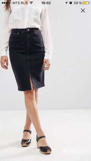 Джинсовая юбка ASOS