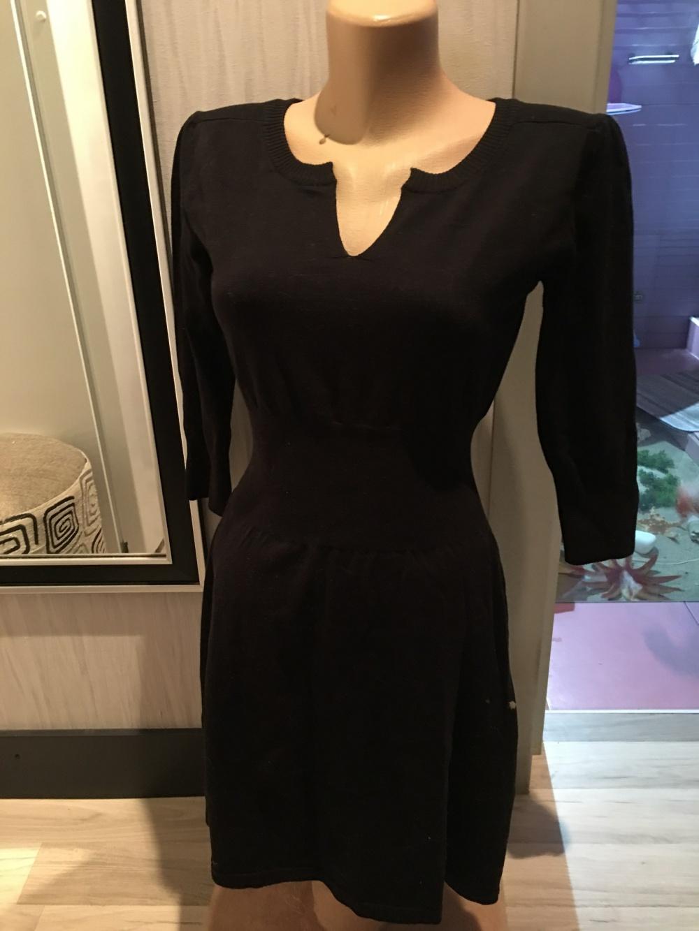 Платье MANGO,размер М,но вполне подойдет и на S, цвет черный