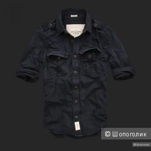 Новая мужская рубашка Abercrombie & Fitch на р. 48-50