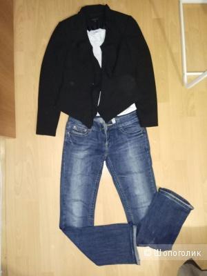 Пиджак Carla F.,  36  р-р,  черный