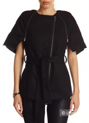 Пальто итальянского бренда FORNARINA черного цвета, размер М