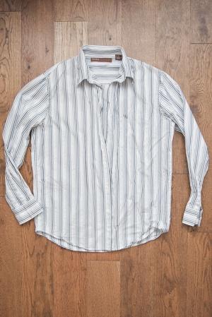 Новая мужская рубашка Perry Ellis, р. L