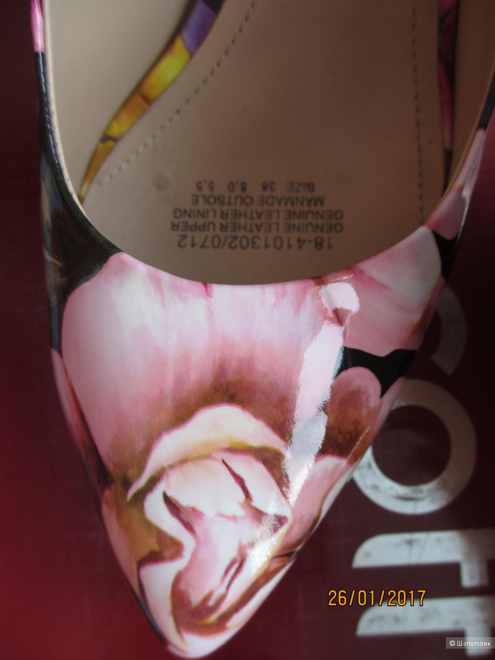 Туфли mascotte мультиколор 38 размер