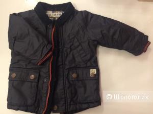 Куртка на мальчика Next размер 6-9 месяцев до 9,5 кг