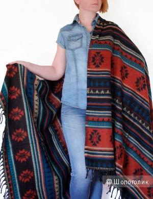 Новый шарф-палантин ( а также шаль, накидка, одеяло, скатерть, плед)