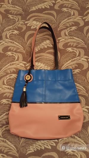 Новая кожаная летняя сумка