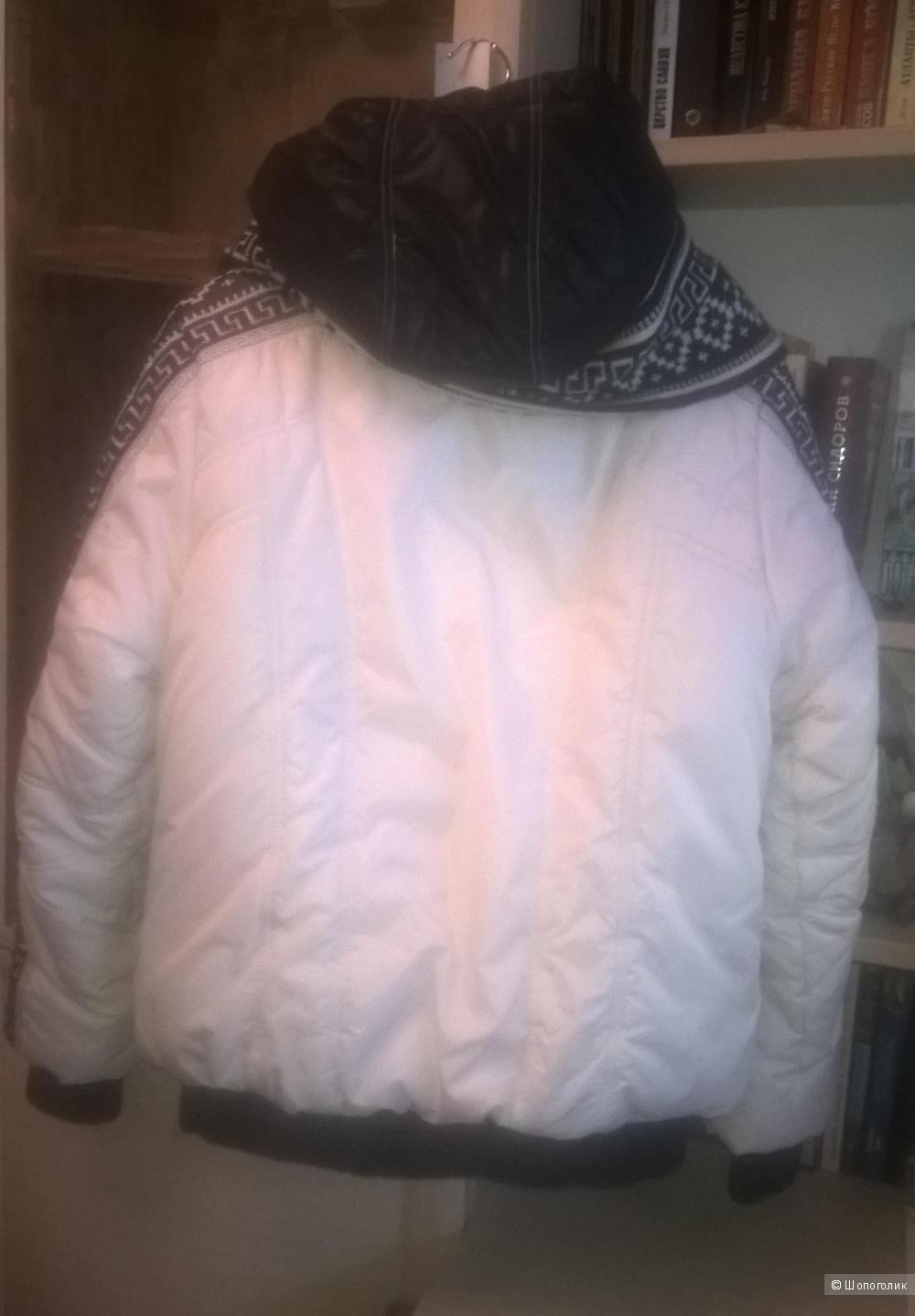 Теплая куртка Tafika с шарфом-снудом, 48-50р-р