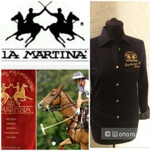 La Martina: женская стрейч рубашка в стиле поло